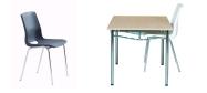 Ana stol og Eminent bord, er en god sammensætning til kantinen. Vi giver gerne det bedste tilbud på en Ana stol.