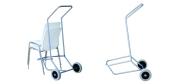 Vogn til Ana stol med gummihjul. Vi giver gerne det bedste tilbud på en Ana stol.